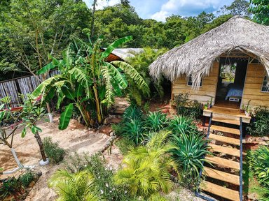 Authentic wood Casita, Playa Grande €53