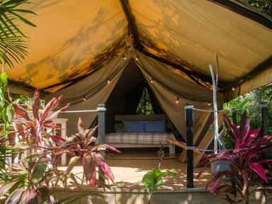 Private & comfortable Tent Playa Grande #2 €110