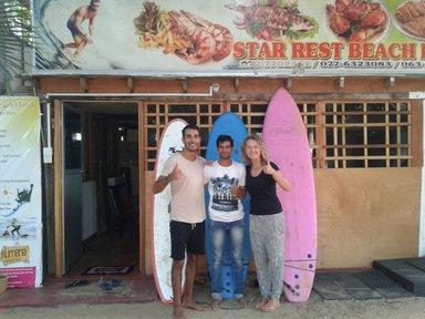 Star Rest Surf Camp Arugambay €290