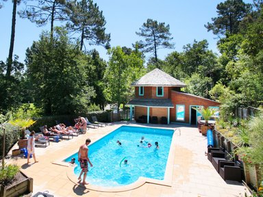 Cottage 4/5 p with pool near LANDES ocean €78