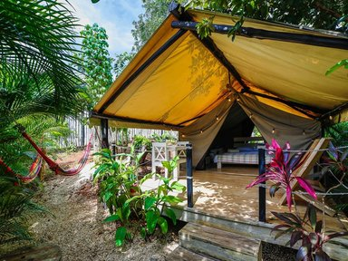 Private & comfortable Tent Playa Grande #1 €89
