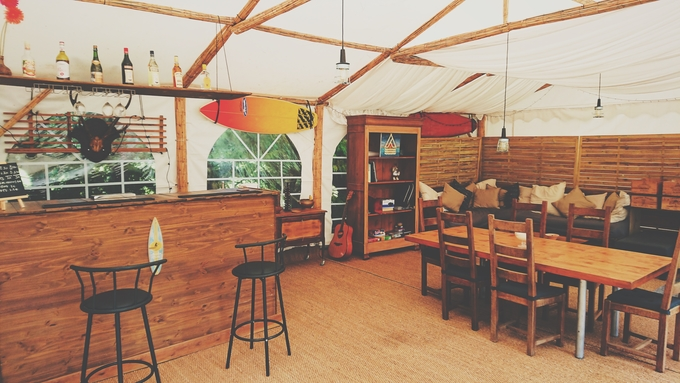 Glamping Deluxe Bell Tent Accommodation €79