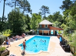 Cottage 4/5 p with pool near LANDES ocean €210